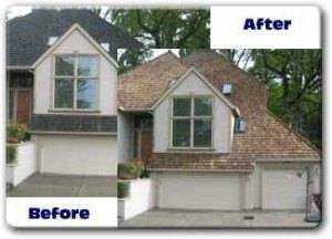 Before & After Roof Treatment
