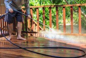 power washing homes